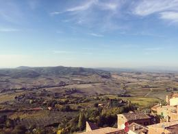breathtaking view from Montepulciano , Dabay - October 2017