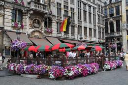 An outdoor cafe, Grand-Place, Brussels - June 2011