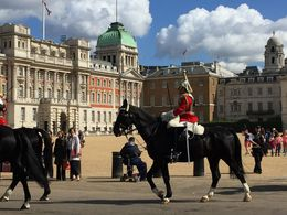 Watching the Changing of the Horses, my two sons loved it! , Lee H - August 2015