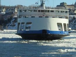 The Ferry over to Levis, Tracey S - February 2010