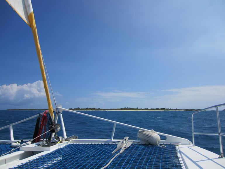 I'm on a boat! - San Juan