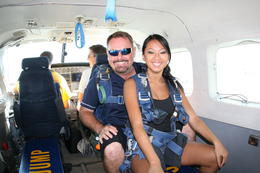 Skydiving. - March 2011