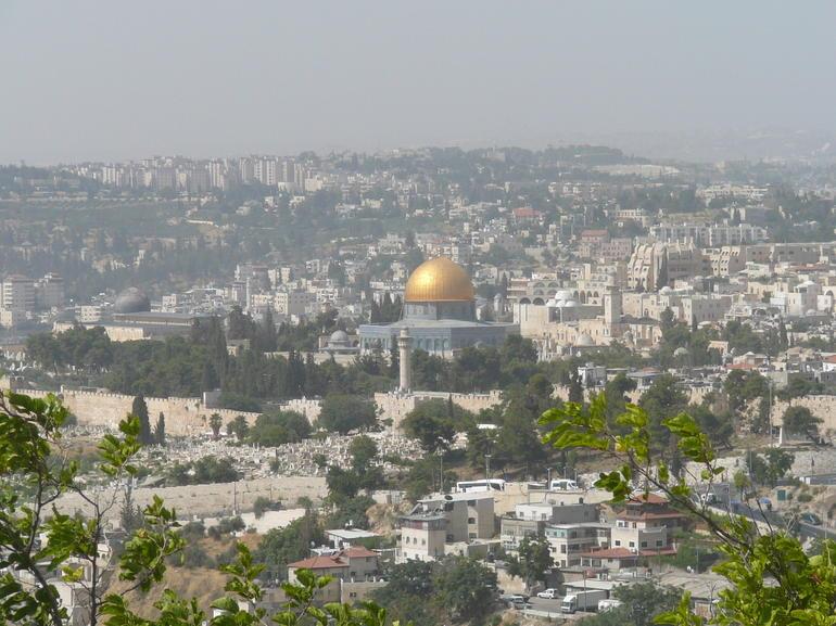 Jerusalem panoramic view - Jerusalem