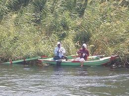 Fisherman on the Nile River - May 2008