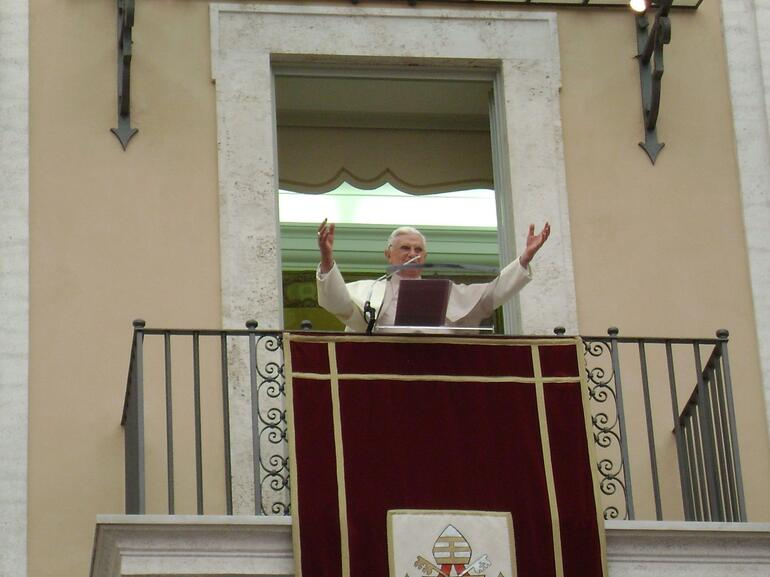 Papal Blessing - Rome