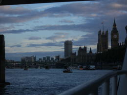 London from the boat , Sue M - August 2011