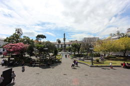 Panoramic view of the plaza, Bandit - October 2013