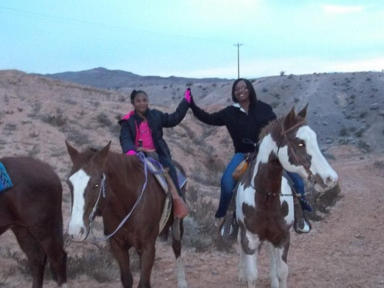 Riding through the valley - Las Vegas