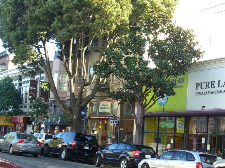 Row of shops in Haight-Ashbury, San Francisco - San Francisco