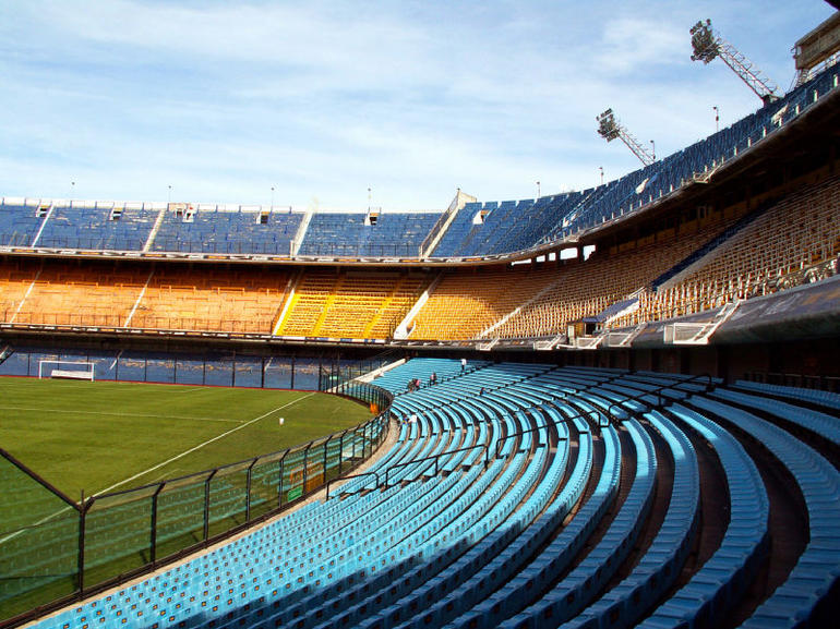 La Bombonera soccer stadium - Buenos Aires
