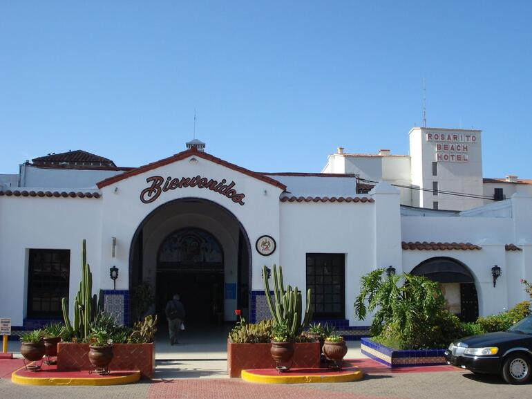 The famous Rosarito Beach Hotel - San Diego