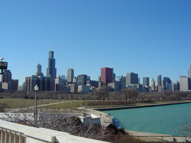 View from Shedd Aquarium - Chicago