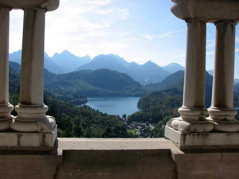 View from the window of Neuschwanstein - Munich