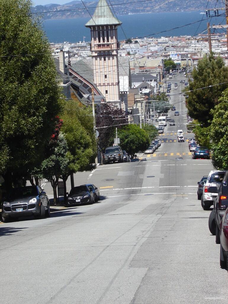 View of the Bay - San Francisco