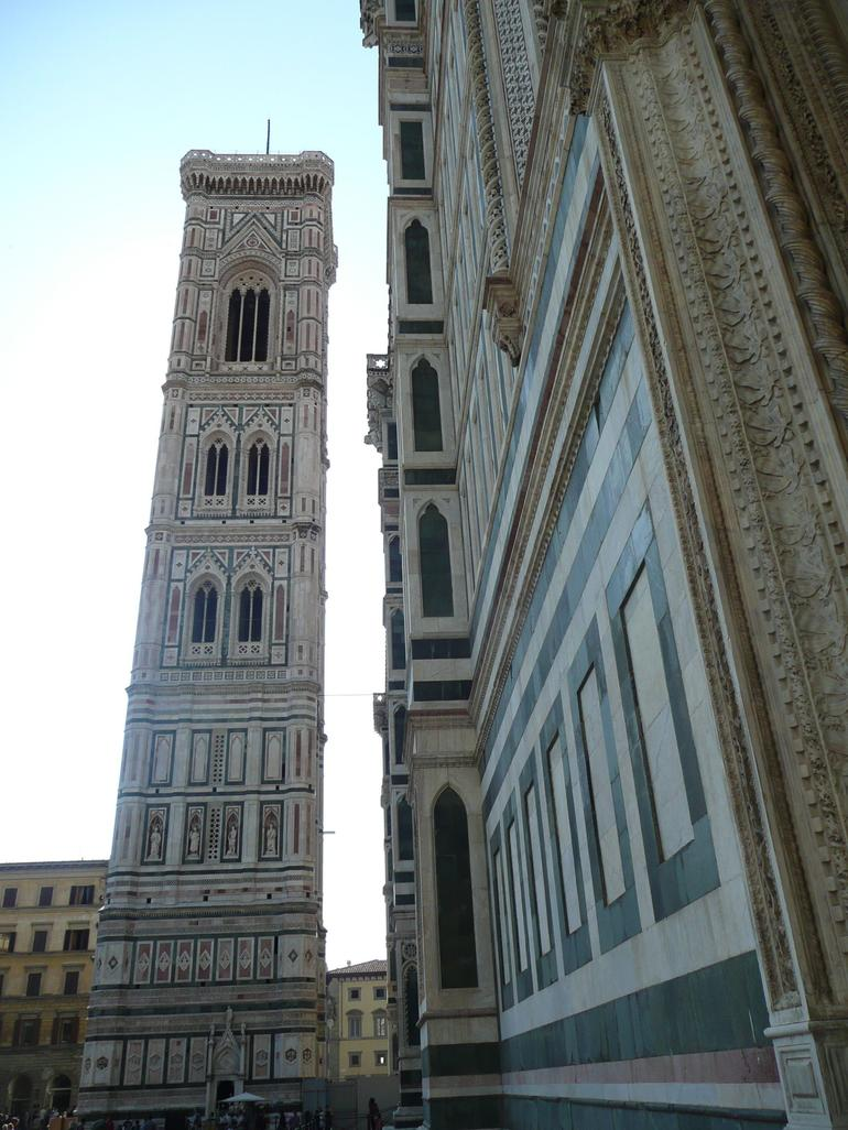 View of the Bell Tower From the North - Florence
