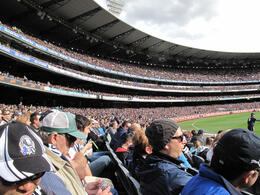 The Melbourne Cricket Ground is a brilliant stadium and holds 90,000 fans comfortably. , ROD C - August 2011