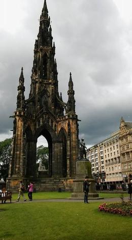 Scott Monument - Right next to the main bus stop! , Kelsey C - February 2017