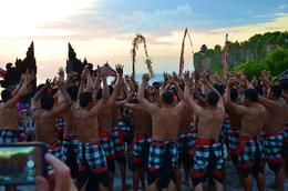 Start of the Kecak dance, with the chanting men.. , Susan P - June 2017