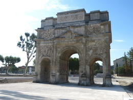 Roman Triumphal Arc, Orange , Nancy B - August 2017