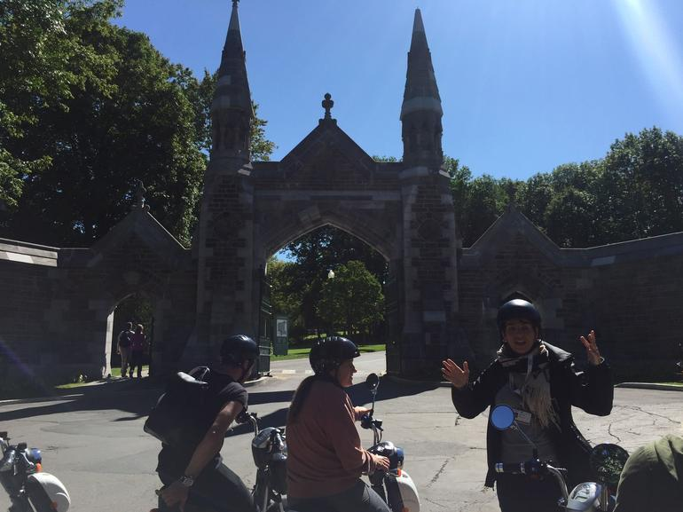 Guided Scooter Sightseeing Tour in Montreal