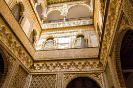 Alcazar Seville inside - June 2016
