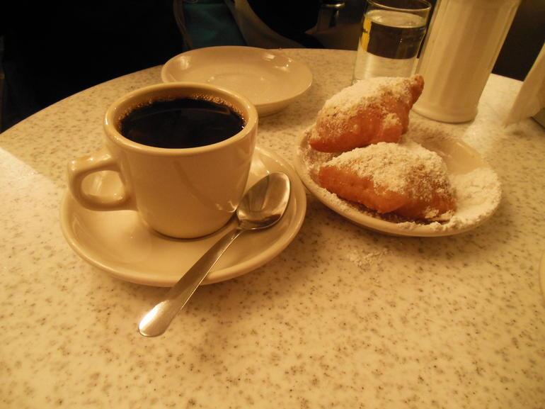 Beignets at Cafe du Monde - New Orleans