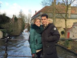 Carmen y Borja, novios en Brujas pasando Navidades , Borja S - January 2015