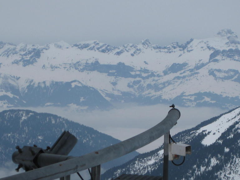 Cable Car up Chamonix - Geneva
