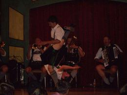 The dinner at Hofbrauhaus was fun for all. - August 2010