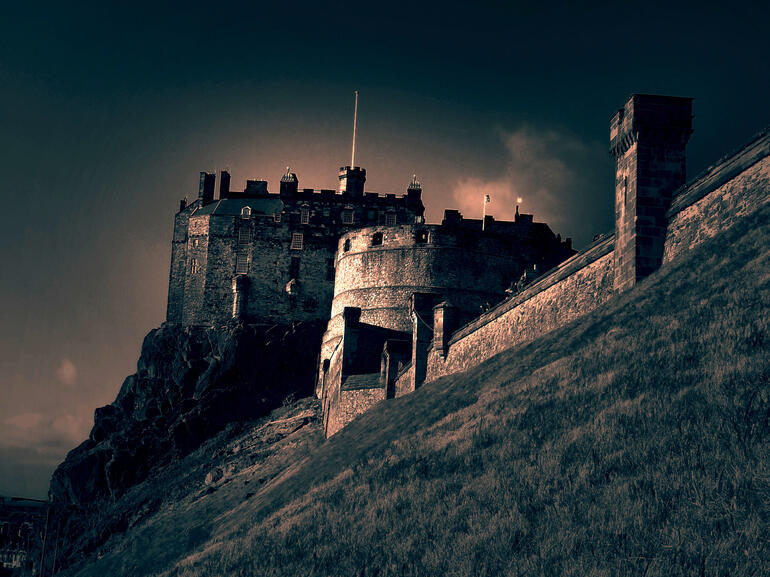 Edinburgh Castle, Scotland -