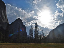 We had a tour around Yosemite Valley before heading back to the camp the second day , Hanne K - September 2012