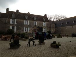 The inn/restaurant where we had a wonderful lunch during our Normandy Tour. , Vhbrmb - April 2014