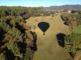 Hot Air Balloon Flight in Barcelona region - January 2012