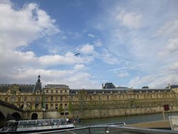 Louvre - view from Seine , Milan R - May 2016