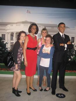 The day wouldn't be complete without meeting the Obama's., Jane E - June 2010