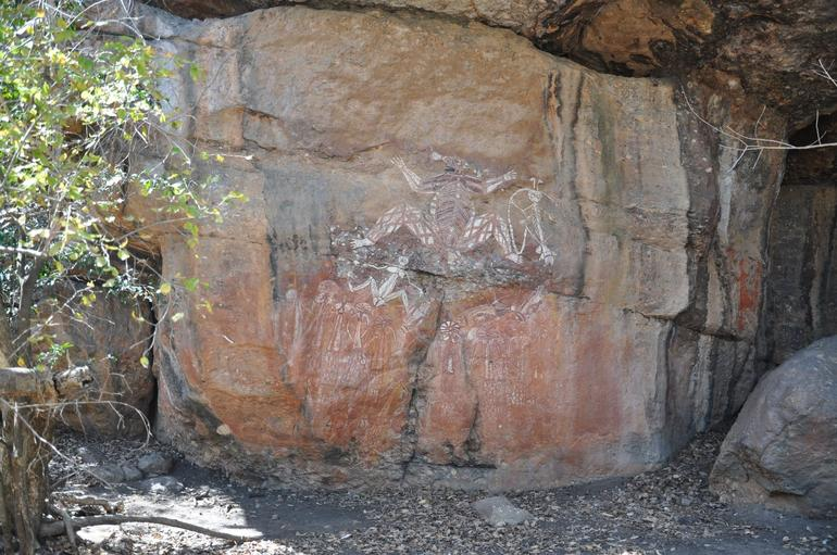 More rock paintings in Kakadoo - Darwin