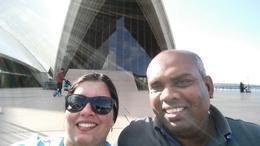 Opera House guided tour , Smitha K - May 2016
