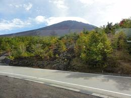 A clear picture of Fuji san before reaching the 5th station., Jeffrey W - October 2010