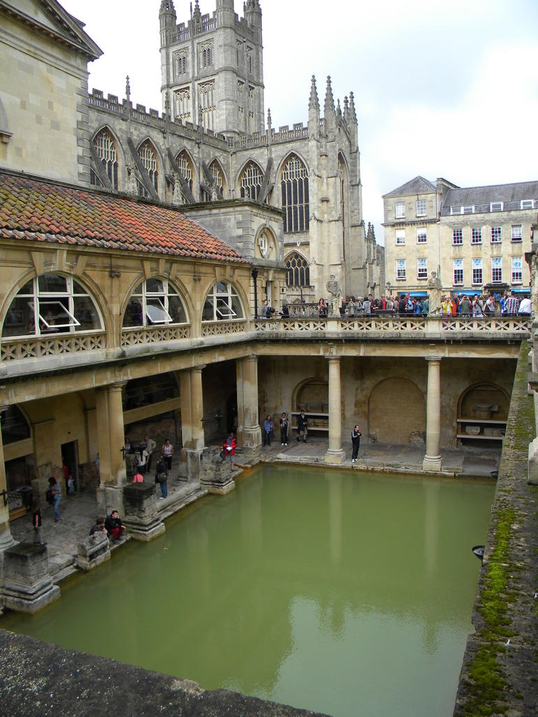 Roman Baths - London