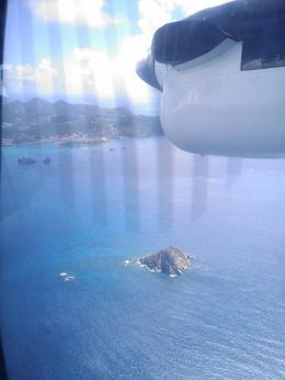 Flying above Saba - July 2014