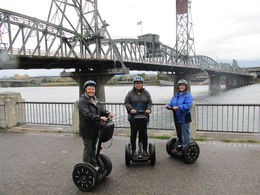 At 55 us old gals can play, sight see, and zip around Portlandia on Segways! , Cari P - October 2015