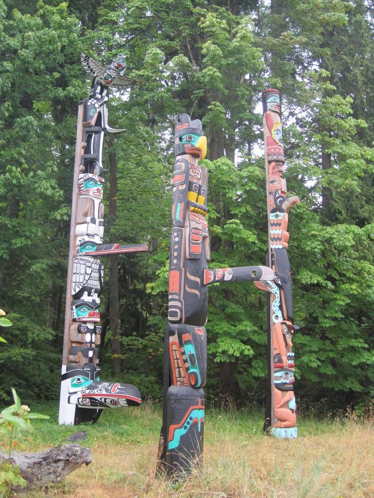 Story /Totem Poles - Vancouver
