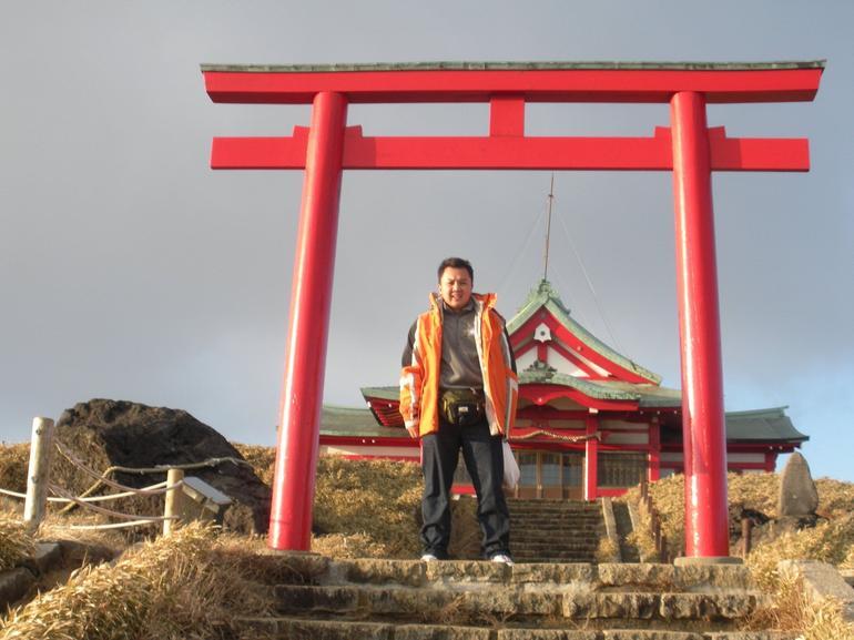 Temple at Mt. Hakone - Tokyo