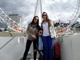 At the London Eye, Viator Insider - September 2014