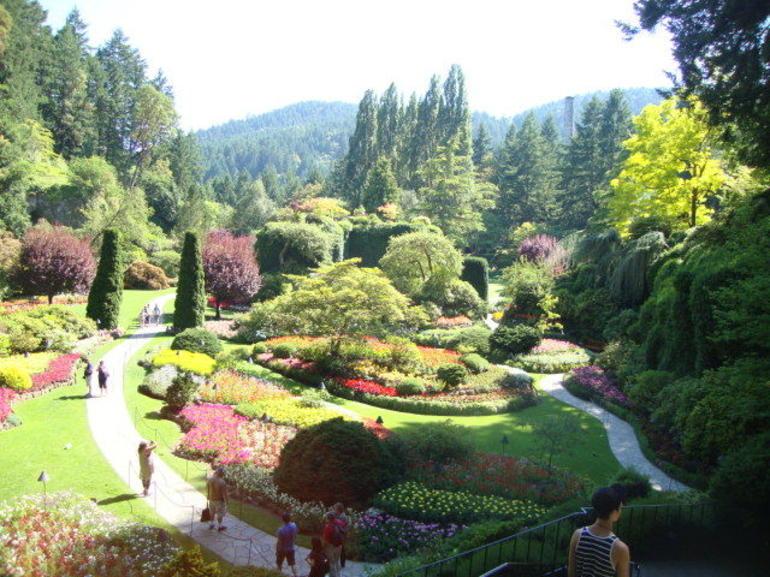 The Butchart gardens - Vancouver