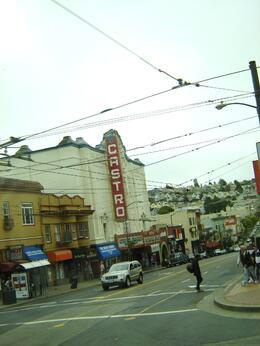 Taken from tour bus, Kim C - August 2009