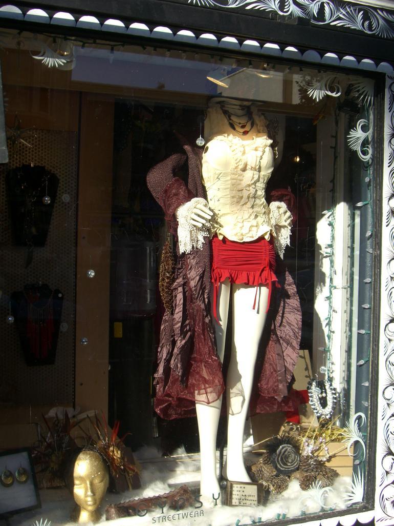 Window dressing, Haight-Ashbury store, SF - San Francisco