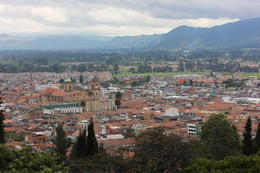 View of the town of Zipaquira., Bandit - September 2012