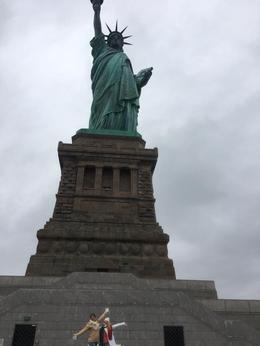 Statue of Liberty Tour Kaitlyn and Christy Black 12/16 , Christy B - January 2017