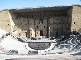 Roman Theater, with complete back stage, Orange , Nancy B - August 2017